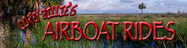 COREY BILLIES AIRBOAT RIDES